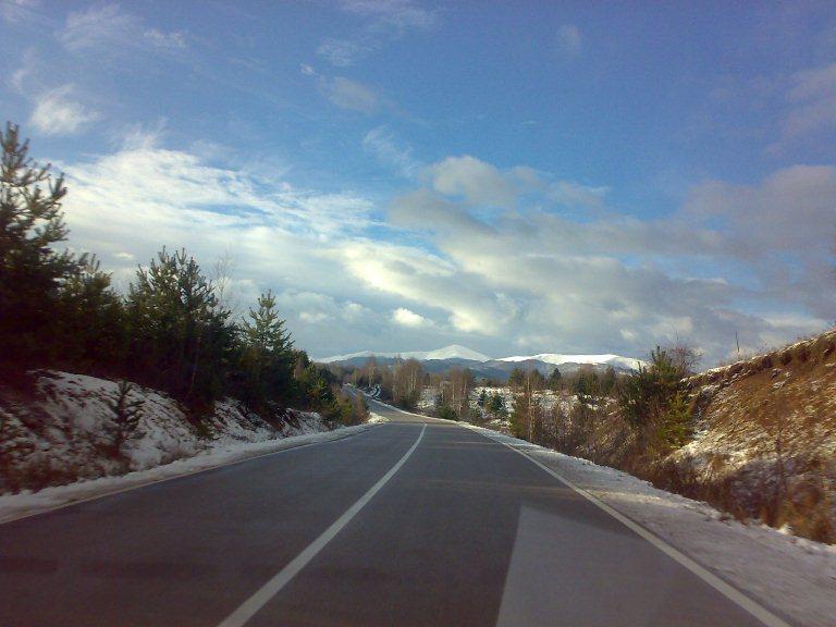 Prvi sneg na jugu Srbije