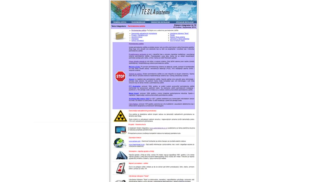 Sistem integrator br.12