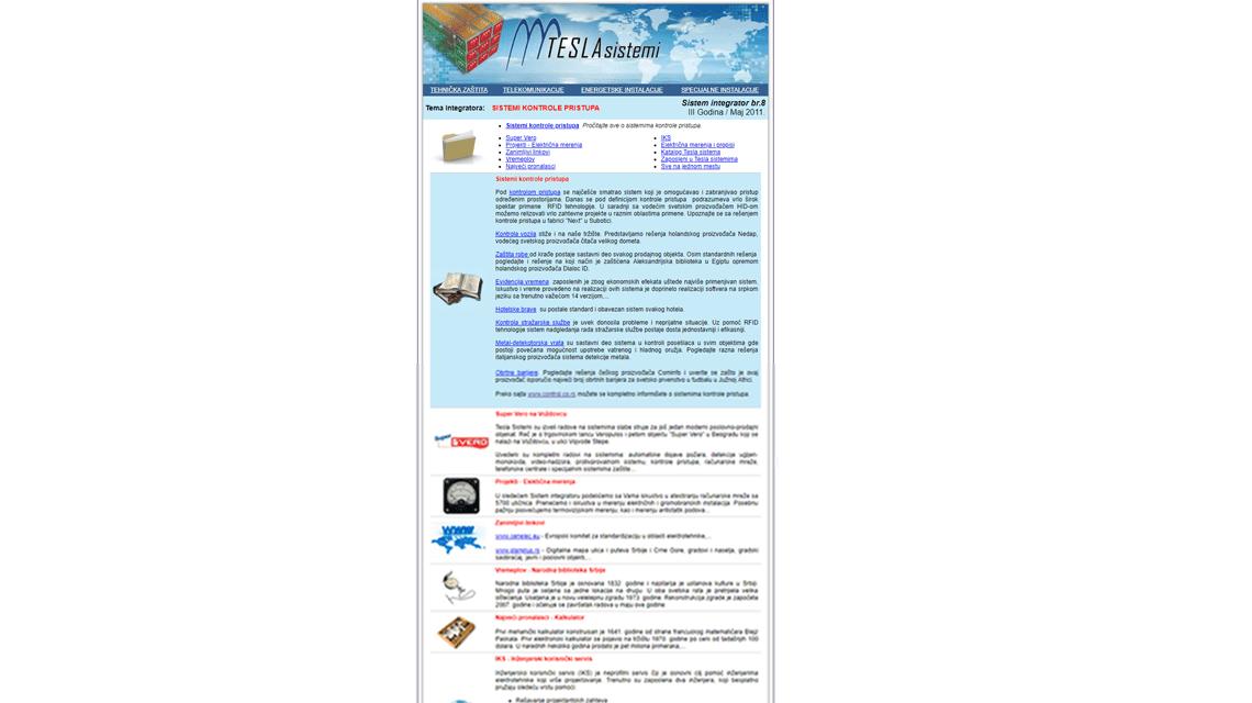 Sistem integrator br.8