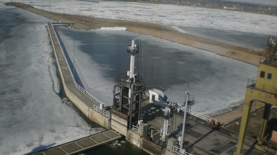Zaleđen Dunav