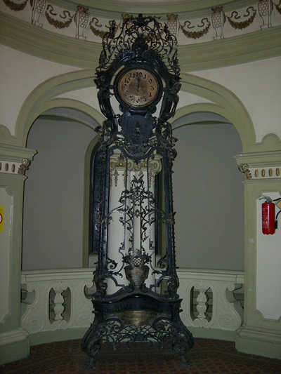 Clock in the Assembly of Zrenjanin