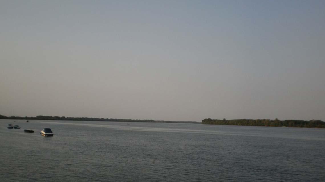 Danube near Vinča