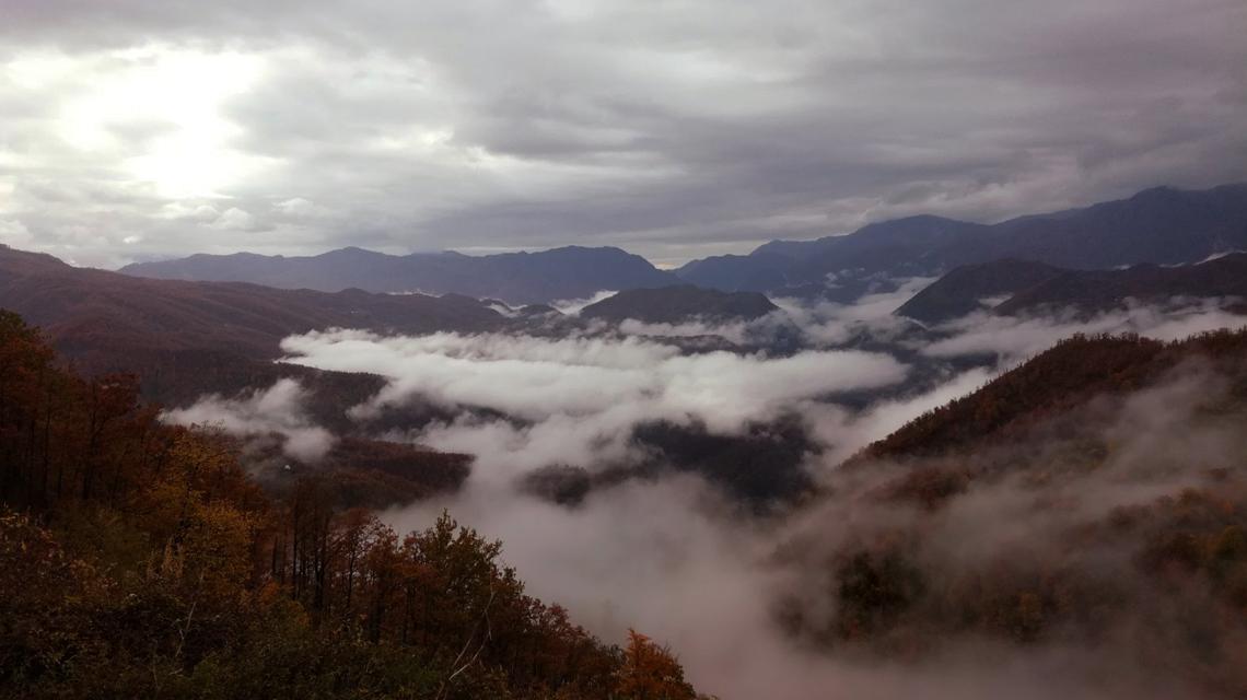 Panorama of Montenegro