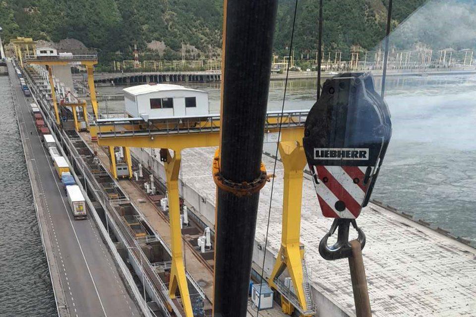 """Radovi na sistemu video-nadzora, meteorološkoj stanici, radaru i sistemu snimanja radio-veze na hidroelektani """"Đerdap I"""" najvećoj hidroelektrani u jugoistočnoj Evropi."""